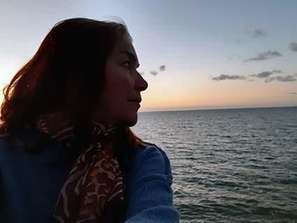 Aline regard sur horizon 1