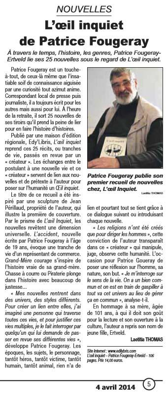 Article le courrier francais copie