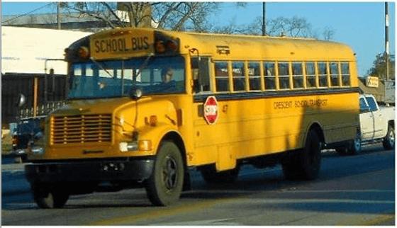 Bus typique des USA