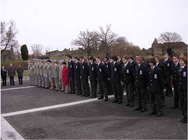Cadets de la de fense