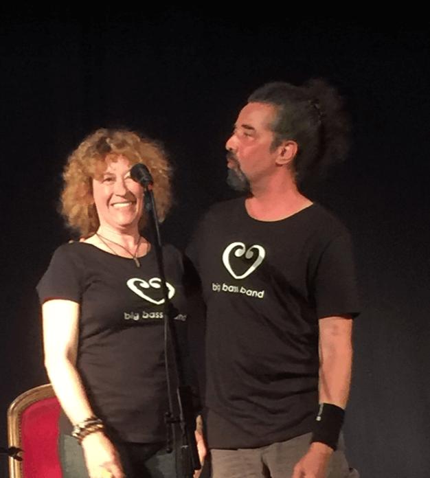 Christine Kunz avec Frank Nelson