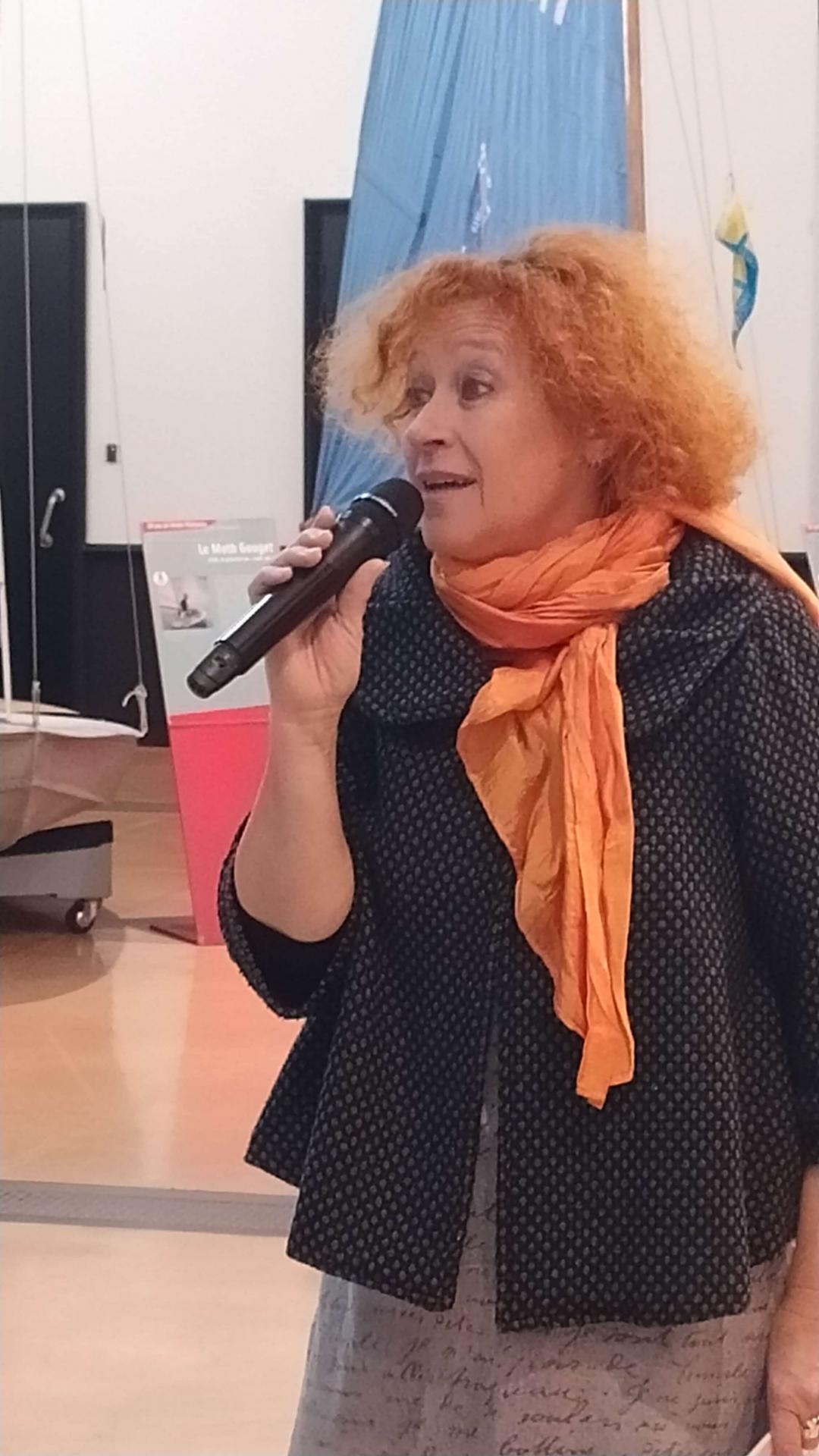 Christine Kunz au musée maritime de La Rochelle