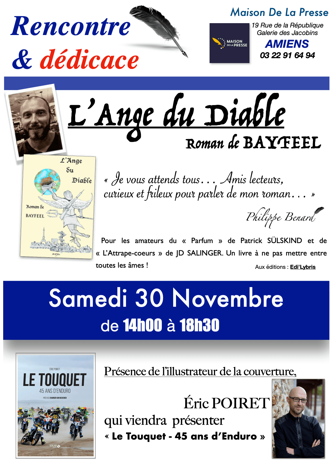 Bayfeel en dédicaces à Amiens