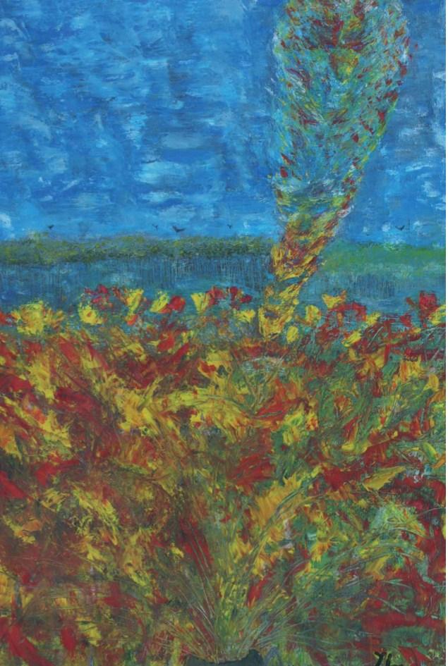 Les fleurs du mal peinture 1