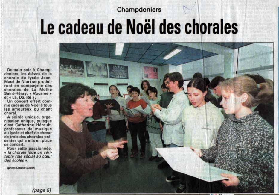 Presse noel