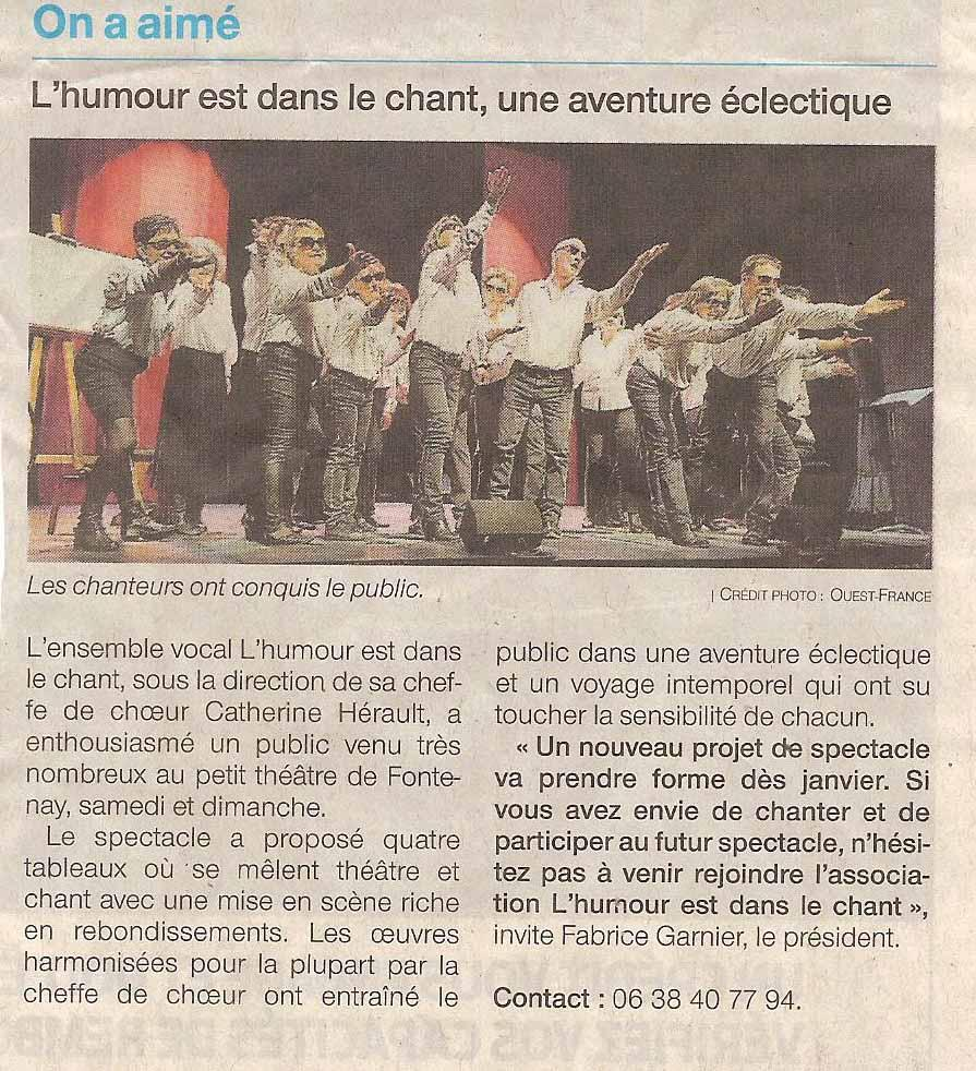 Presse spectacle2018